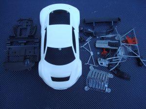 NSR Audi R8 LMSGT3 kit carrozzeria da dipingere