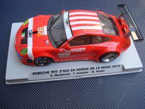 Fly Porsche 997 RSR BMS Scuderia Italia, 24h Le Mans 2010, con sistema sound chip