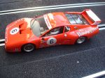 Fly Slotwings Ferrari 512 BB - 24h Daytona 1982 - driver: B. Wollek, E. Doeren, R. Lanier