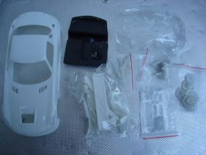 Scaleauto Mercedes SLS kit carrozzeria