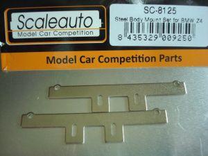 Scaleauto supporti in acciaio per montaggio carrozzeria BMW Z4 sul telaio