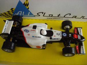 AllSlotCar GP Formula Evo bianco-nera n° 14