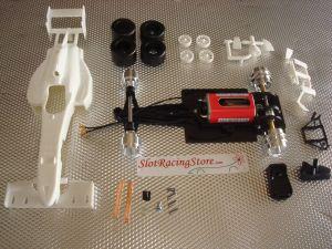 AllSlotCar kit con carrozzaria bianca GP Formula Evo