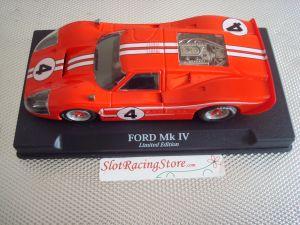 NSR Ford MKIV rossa, numero 4, edizione limitata 500 pezzi, SW e motore Shark 20K