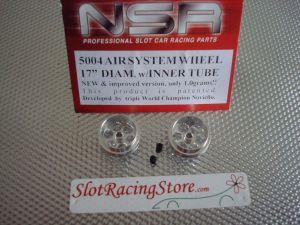 """NSR cerchi anteriori in allumunio per assali da 3/32"""", ultra  leggeri,  17,20mm x 10,90mm, tipo Air system"""