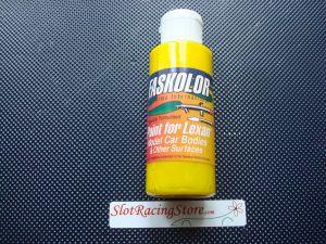 """Faskolor """"Faslucent"""" vernice gialla trasparente per carrozzerie in lexan"""