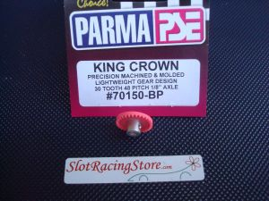 "Parma corona ""King crown"" in nylon, 30 denti, modulo 48, per assali da 1/8"""