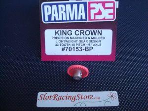 """Parma corona """"King crown"""" in nylon, 33 denti, modulo 48, per assali da 1/8"""""""