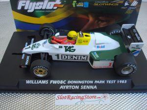 Fly Williams FW08C Formula 1 - Ayrton Senna Collection - Donington Park test 1983