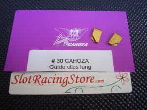 Cahoza clips lunghe per fili alimentazione