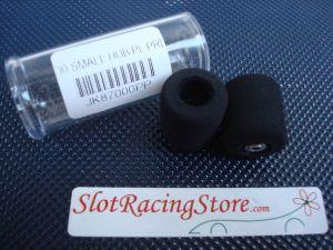 """JK ruote nere 1/24 per asse 3/32"""", diametro .700"""" (17,80mm)"""