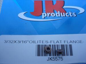 "JK bronzine per assali con diametro 3/32"", senza flangia"