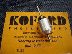 """Koford allineatore per magneti e bronzine/cuscinetti, diametro .570"""""""