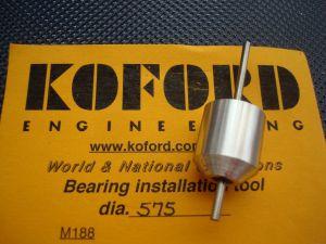 """Koford allineatore per magneti e bronzine/cuscinetti, diametro .575"""""""