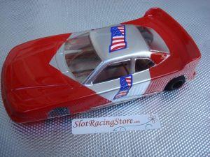 """JK modello 1/24 Cheeta 21 da noleggio con motore Hawk 25, carrozzeria con spessore .015"""" rossa"""