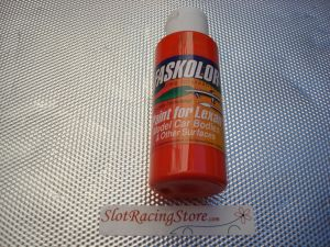 """Faskolor """"Faslucent"""" vernice arancio trasparente per carrozzerie in lexan"""