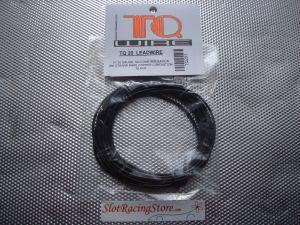 TQ matassina di filo alimentazione motore, diametro 0,812 mm, nero