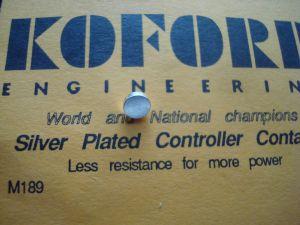 Koford contatto argentato a pasticca per pulsati