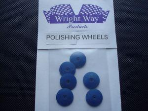 Wright Way dischi per pulizia metalli da utilizzare su alberino Dremel (6 per conf.)