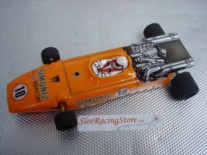 SRS modello F1 Vintage 1/24 pronta per correre con motore Proslot S16D