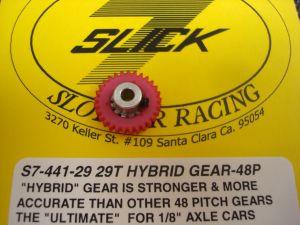 """Slick-7 corona hybrid modulo 48, 29 denti, per assali da 1/8"""""""