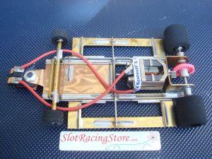 SRS modello Sport Vintage 1/24 pronta per correre con motore Proslot S16D, esclusa carrozzeria
