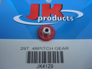 "JK corona modulo 48, 29 denti, per assali da 1/8"", diametro: 16,42 mm"