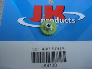 "JK corona modulo 48, 30 denti, per assali da 1/8"", diametro: 16,92 mm"