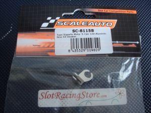 Scaleauto supporto motore per casse tipo S 13D in alluminio. versione R4