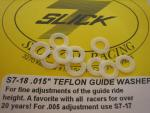 Slick-7 spessori pick-up da .015' in teflon