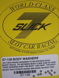 Slick-7 rinforzi in ottone per fori spilli su carrozzerie