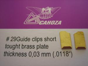 Cahoza clips corte per fili alimentazione