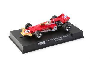Policar Lotus 72  #2 Hockenheimring 1970  pilota : Jochen Rindt