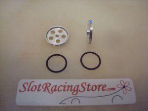 """Slick-7 ruote anteriori ultra leggere in alluminio, diametro: 1/2"""" (12,70mm)"""
