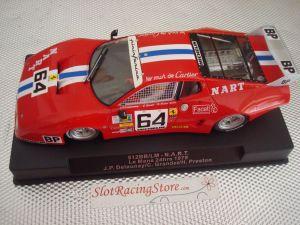 Sideways Ferrari 512 BB LM N.A.R.T  - 24h Le Mans 1979