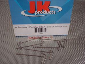 JK kit barre per telaio Aeolos chassis (0.8mm, 0.9mm. 1.0mm, 1.1mm, 1.2mm, 1.3mm)