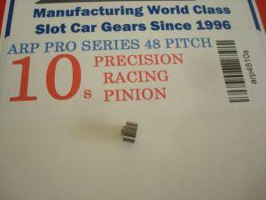 ARP pignone 10 denti, modulo 48, foro 2 mm