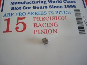 ARP pignone 15 denti, modulo 72, foro 2mm