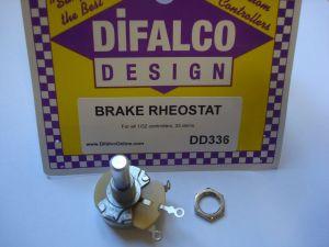 Difalco potenziometro freno 25 ohms per pulsanti Difalco 1/32