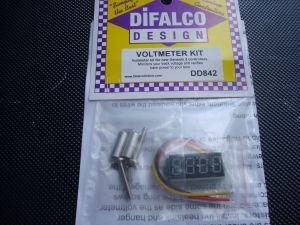 Difalco Kit Voltometro per pulsanti Genesis 2, controlli il voltaggio sulla tua corsia