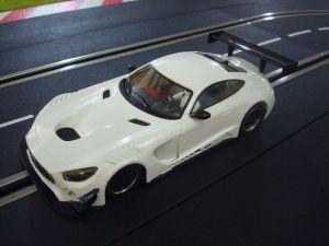 "NSR Mercedes AMG GT3 Test car ""bianca"", anglewinder King 21 Evo 3"