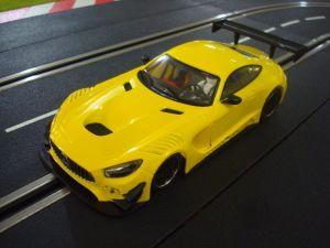 """NSR Mercedes AMG GT3 Test car """"gialla"""", anglewinder King 21 Evo 3"""