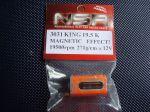 NSR motore King 19.5K effetto magnetico 19.500rpm 271g-cm @12V, cassa lunga