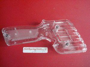 MB guscio pulsante completo di viteria, trasparente