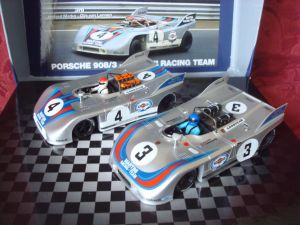 NSR cofanetto con 2 Porsche 908/3 Martini, Nurburgring 1971, #3 e #4