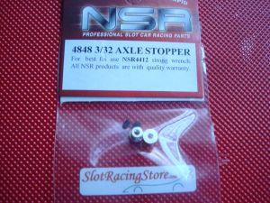 """NSR stopper per assali da 3/32"""", 2 pcs"""