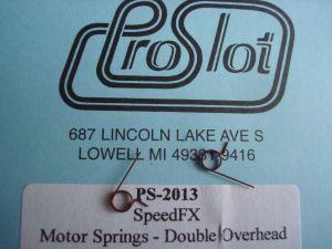 """Proslot """"Speed FX"""" molle per carboncini motore 16D e S16D"""
