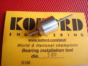 """Koford allineatore per magneti e bronzine/cuscinetti, diametro .580"""""""