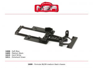 NSR telaio per Formula 86/89, durezza: dura, colore: bianco