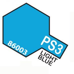 Tamiya PS03 vernice spray per policarbonato, 100ml, light blue